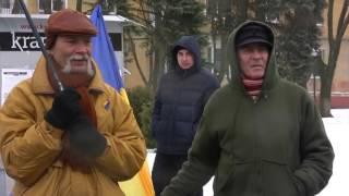 Митинг против блокады Донбасса. Краматорск, 18.02.17