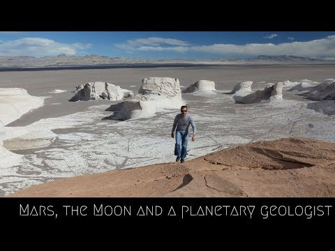 Mars, the Moon and a Planetary Geologist