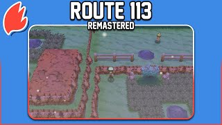 Route 113: Remastered ◓ Pokémon Ruby, Sapphire & Emerald/ORAS