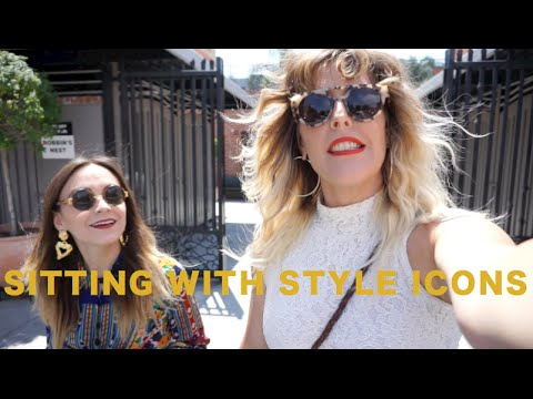 SITTING WITH STYLE ICONS: SARAH OF CAMEO APPEARANCE VINTAGE