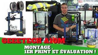 Geetech A10M : Montage, premier print et évaluation