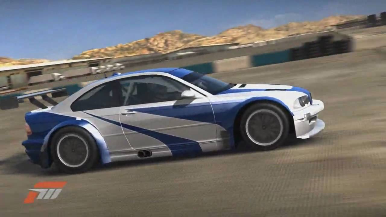 Nfs Mw Forza 3 Fm3 Bmw M3 Gtr Design Showcase Drift Youtube