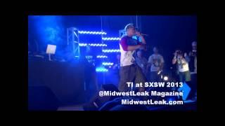 TI addresses Lil Wayne Rumors, Gives TMZ the finger at SXSW 2013