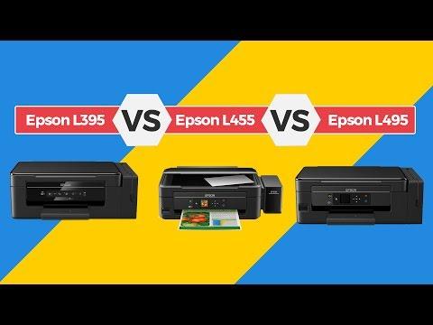 Comparativo Epson L395 vs Epson L455 vs Epson 495