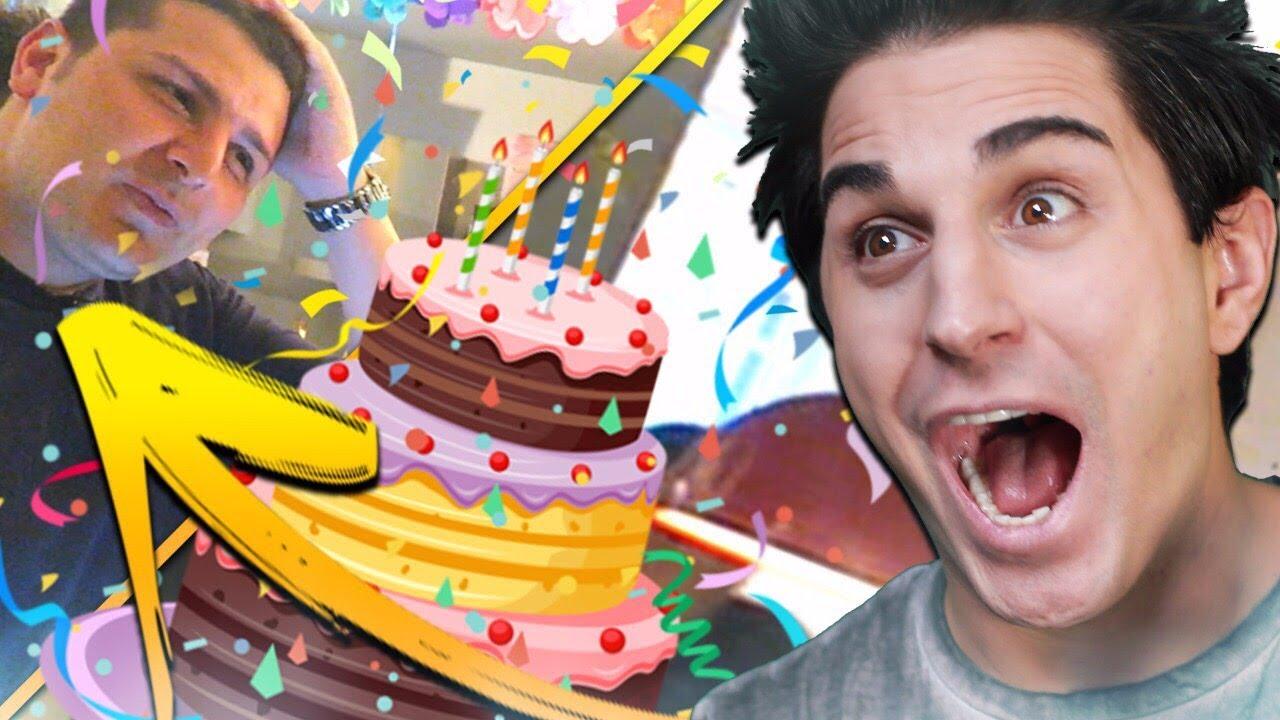 Festa A Sorpresa Di Compleanno festa a sorpresa per papa' vegas!! (1 milione e compleanno) delirio totale!