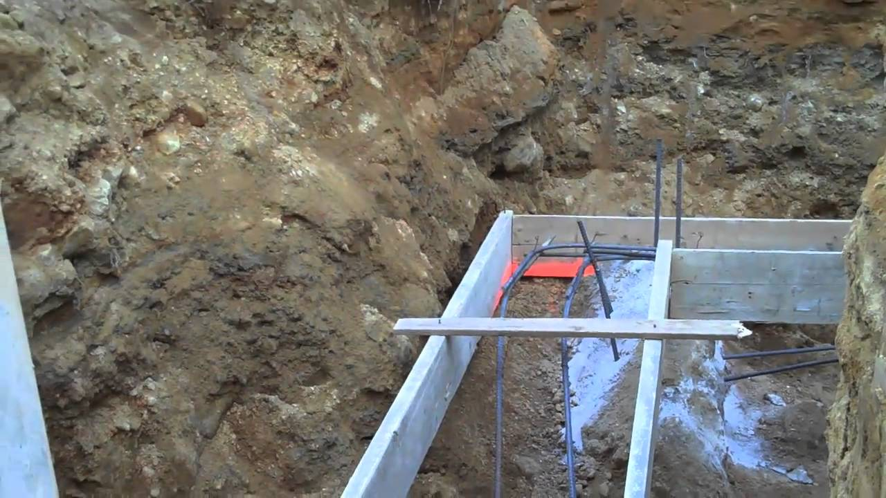 Concrete footer part 1 youtube solutioingenieria Gallery