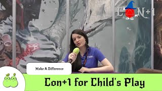 Make a Difference. Con+1 for Child