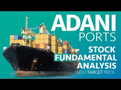 ADANI PORTS Fundamental Analysis   Largest Port Operator in India   Indian  Stock Market