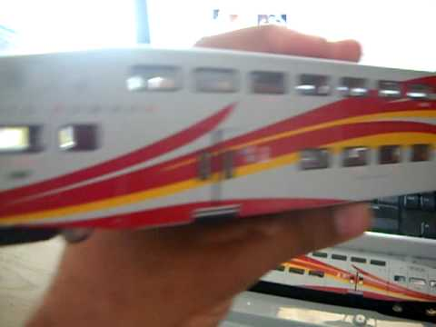 my HO new mexico rail runner express train set tour