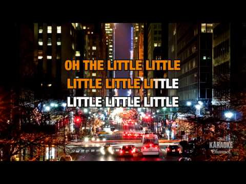 Little Things in the style of Bush | Karaoke with Lyrics