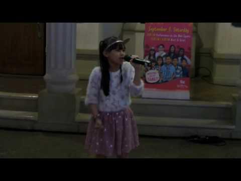 Yesha Takes Her Moment to Shine - The Voice Kids at Kidzania Manila