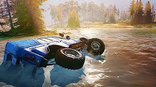 SPINTIRES : MUDRUNNER Gameplay Trailer (2017) PS4 / Xbox One / PC