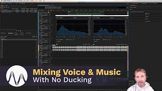 How to Mix a Voice Over with Music without Ducking