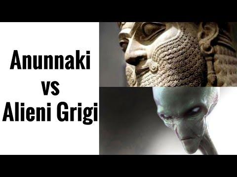 Anunnaki contro Alieni Grigi