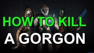 Destiny Vault Of Glass! How To Kill A Gorgon!