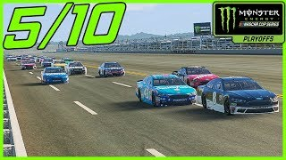 WE'RE GONNA HAVE A SHOT AT THIS! - NASCAR Heat 2 Career Mode  Playoff Race 5/10 