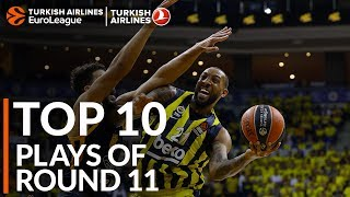 Turkish Airlines EuroLeague Regular Season Round 11 Top 10 Plays