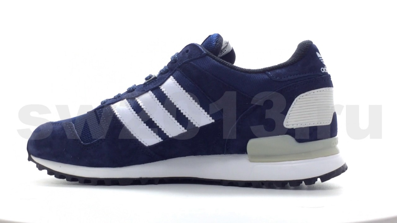 ef01a6f66ee82 Adidas ZX 700 Blue White Men - YouTube