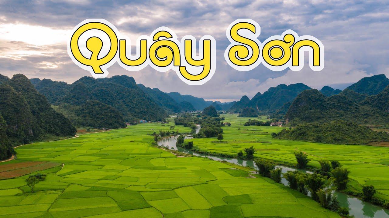 Đầu nguồn con sông Quây Sơn xanh biếc tại thung lũng Ngọc Côn, Trùng Khánh, Cao Bằng