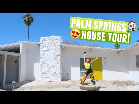 $1,000,000 PALM SPRINGS COACHELLA HOUSE TOUR!!