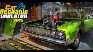 Car Mechanic Simulator 2015 Ремонт авто + обучение часть №2