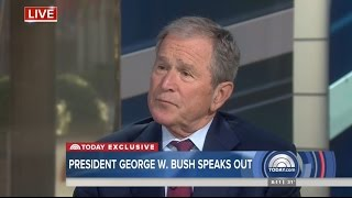 George W. Bush SLAMS Trump, Demands Russia Answers