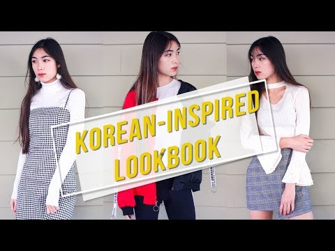 ♡ Korean-Inspired Fashion Lookbook ♡