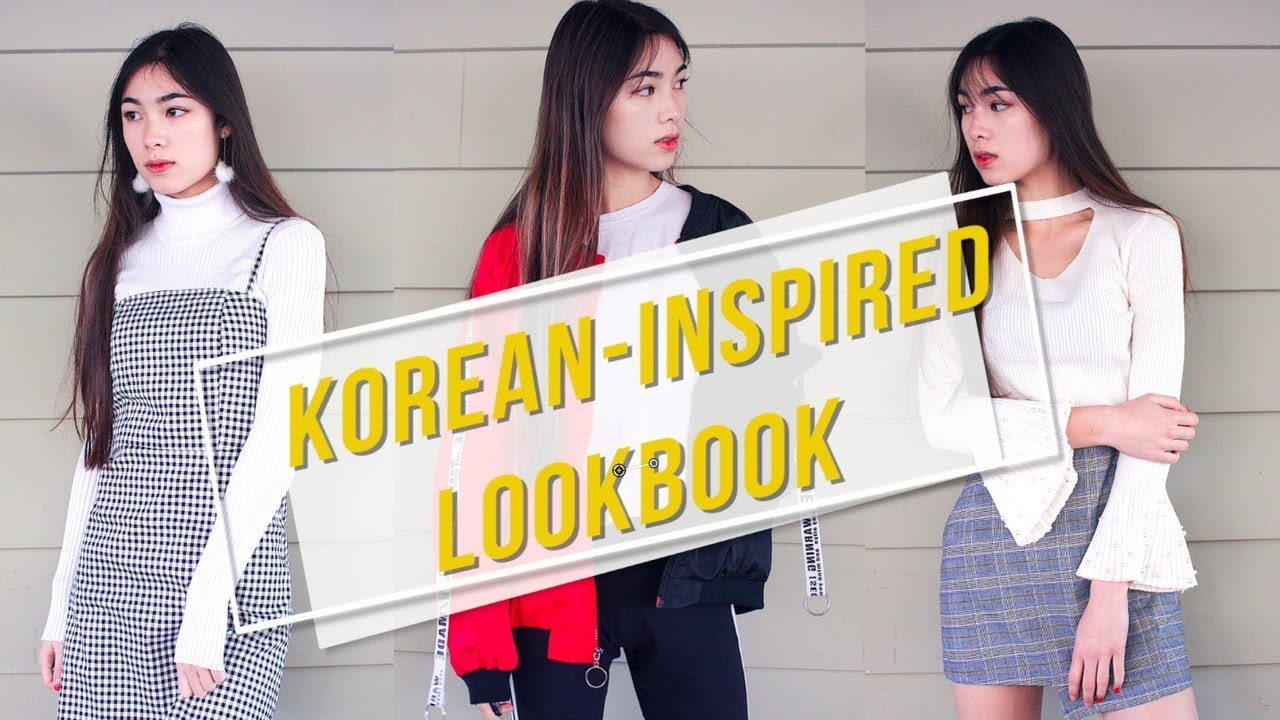 ♡ Korean-Inspired Fashion Lookbook ♡ 1