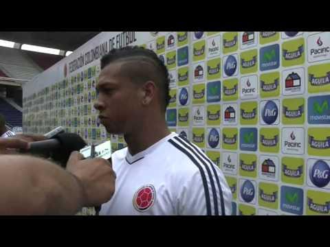"""""""Clasificar al Mundial es un sueño por cumplir"""": Fredy Guarín, volante de la selección Colombia"""