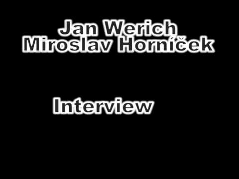 Jan Werich Miroslav Horníček Interview