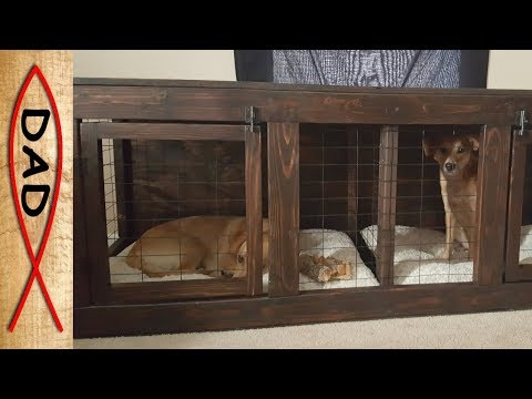DIY - TV dog kennel