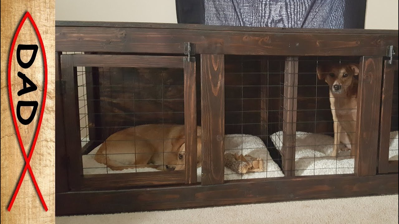 Diy Tv Dog Kennel Youtube