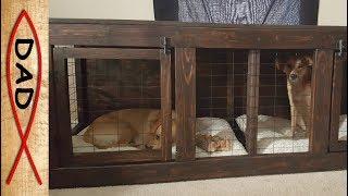 DIY - TV dog kennel
