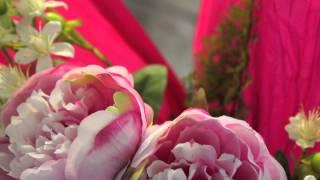 Decorazione bouquet con carta crespa & carta velina