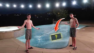 FIND THE MYSTERY ITEM IN THE FREEZING COLD POOL!