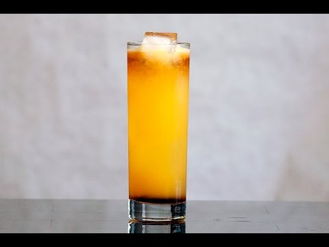 Jamaican Sunset - Tropical Cocktail
