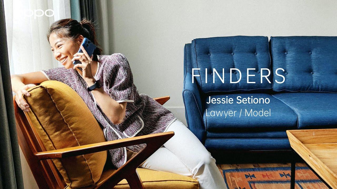OPPO Find X3 Pro 5G   Finders: Jessie Setiono, Lawyer/Model
