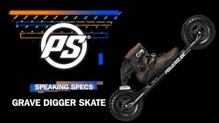 Powerslide Grave Digger nordic skate - Powerslide Speaking Specs