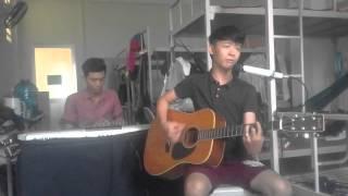 nếu em còn tồn tại cover - guitar Hoàng Vũ - solo Long Ẩn - drum Khun Thi