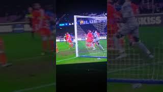 Gol Raul Albiol (Napoli 1-0 Spal)