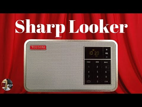 Aluminum Tecsun X3 FM Stereo / MP3 Radio Unboxing and Review