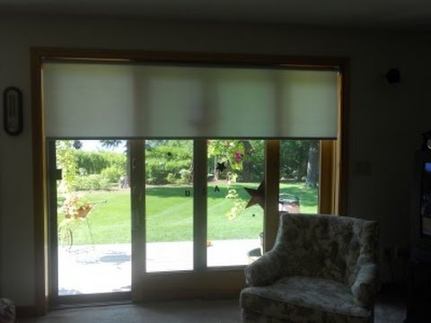 Horizontal Blinds For Sliding Glass Doors Youtube