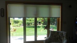Horizontal Blinds for Sliding Glass Doors