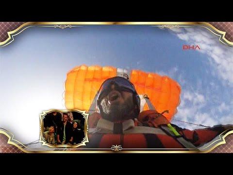 Beyaz Show - Gökyüzünde Paraşüt Değiştiren Cengiz Koçak Beyaz Show'daydı!
