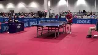 Angela Guan vs Laura Huang U21 Women RR Group 5
