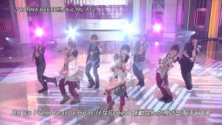 FNS120808 Kis My Ft2 WANNA BEEEE!!!1440x1080i