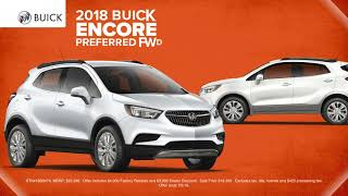 Take $7000 Off MSRP on a New 2018 Buick Encore!