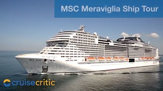 Msc meraviglia is one of cruises newest and largest ships, boasting a number firsts for the line including an 80m-long led screen in central promena...