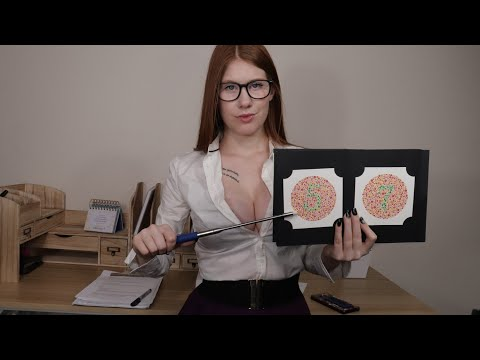 [ASMR] Color Blindness Test | Personal Attention | Ishihara Test