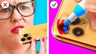 GENIUS LIFE HACKS FOR EVERY LIFE SITUATION || Funny Crafts And DIYs by 123 Go! Gold